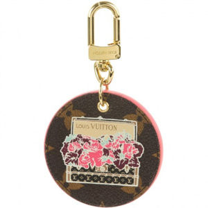 Auth💕LOUIS VUITTON  Illustre Posies Key bad charm